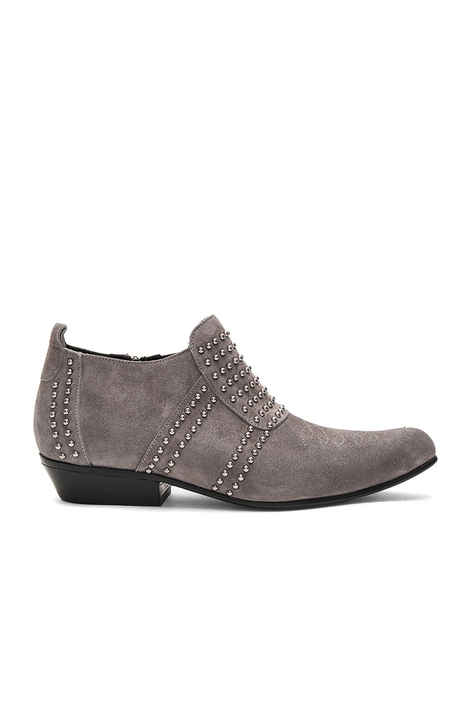 ANINE BING Low Charlie Bootie. #aninebing #shoes #