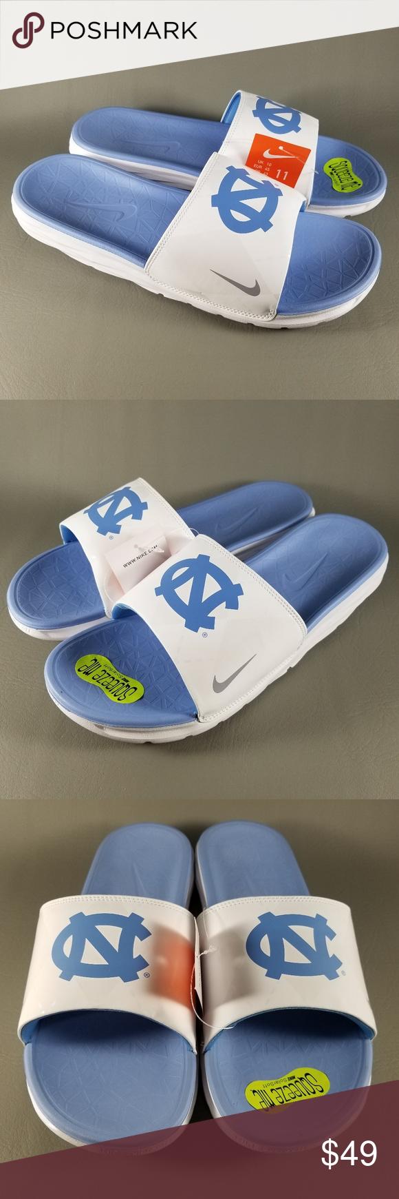 438ce3782dca Nike UNC Tar Heels Benassi Solarsoft Slides Men 11 Nike UNC North Carolina  Tar Heels Benassi
