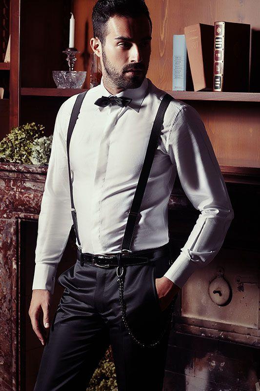 stili classici sulle immagini di piedi di dettagliare abito sposo bretelle tight - Daniele Panareo fotografo di ...