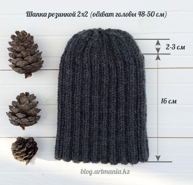 Как убавить вязание шапки 816