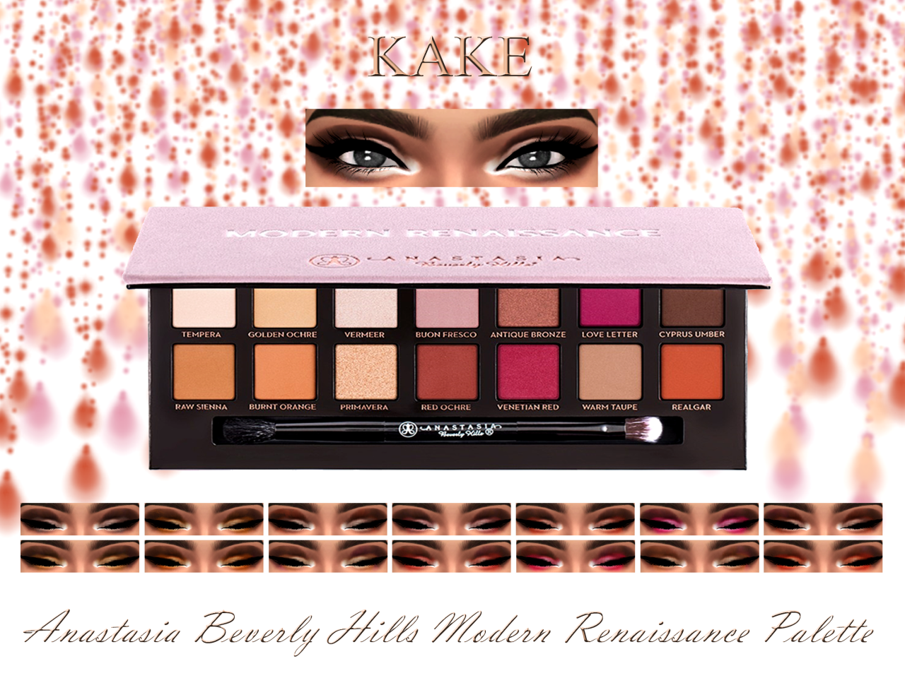 Tavolozza trucchi ~ Anastasia beverly hills modern renaissance palette think we would