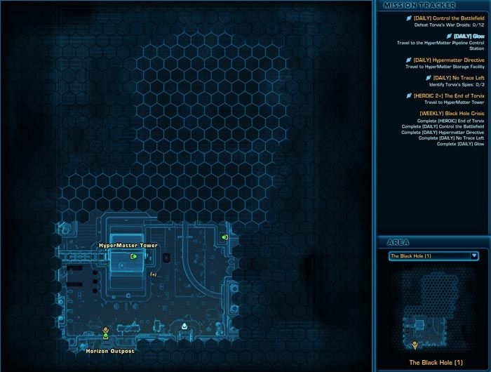 SWTOR Black Hole Daily Missions Guide (Empire and Republic ...