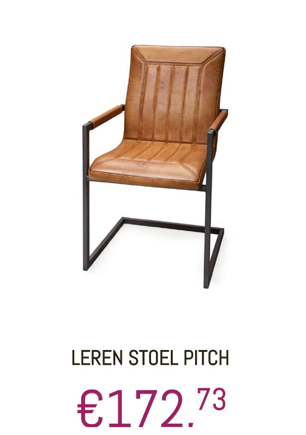 #Stoel #Leder #Pitch