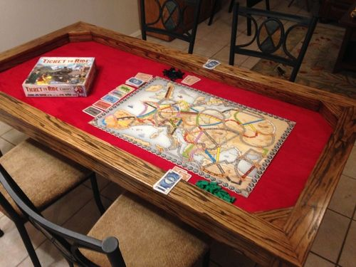 A Gaming Dining Table The Wife Approves Of Big Dining Room