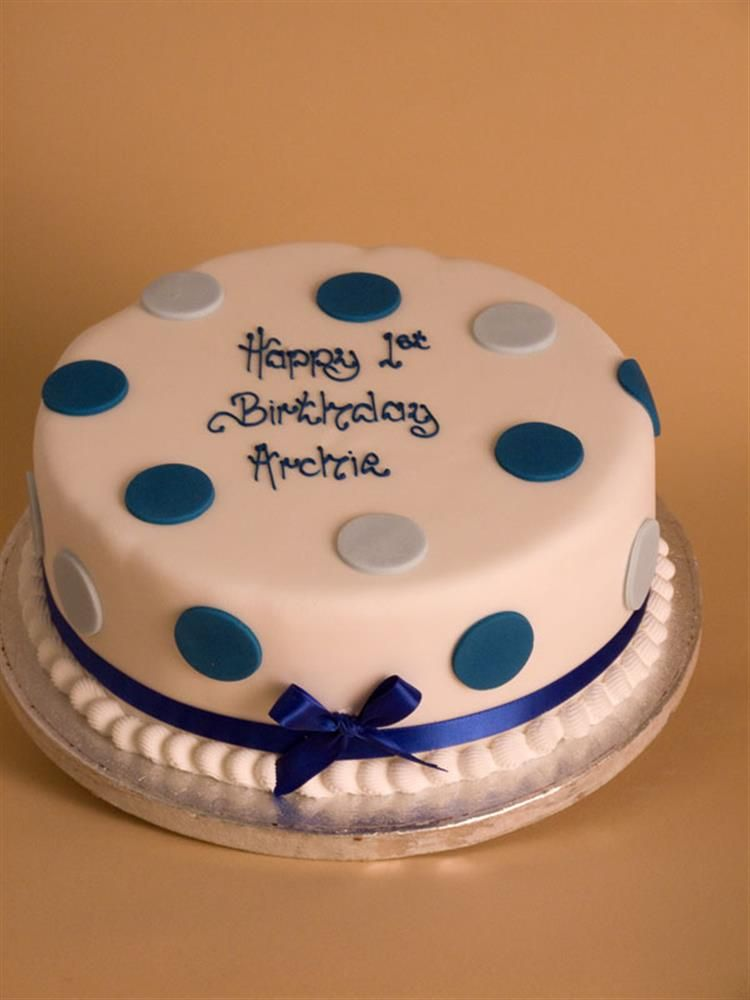 Polka Dot Birthday Cake From The Cakeshop Recipes Pinterest