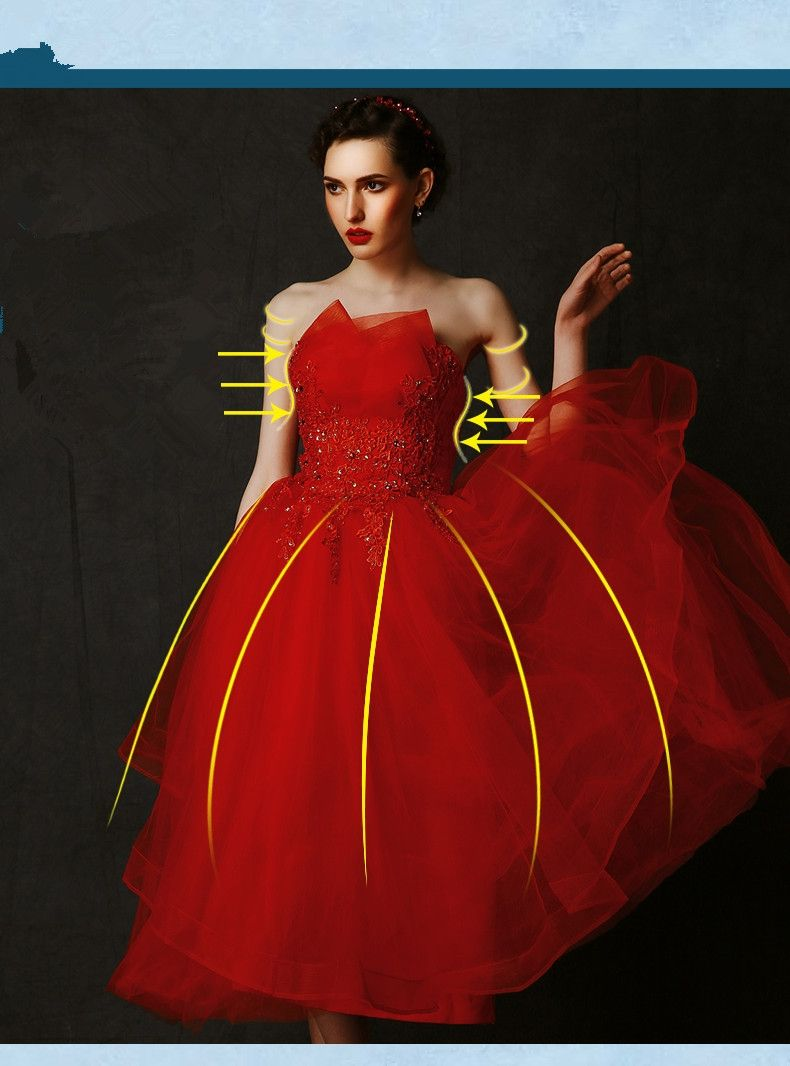 free shipping red offshoulder party gown long evening dress