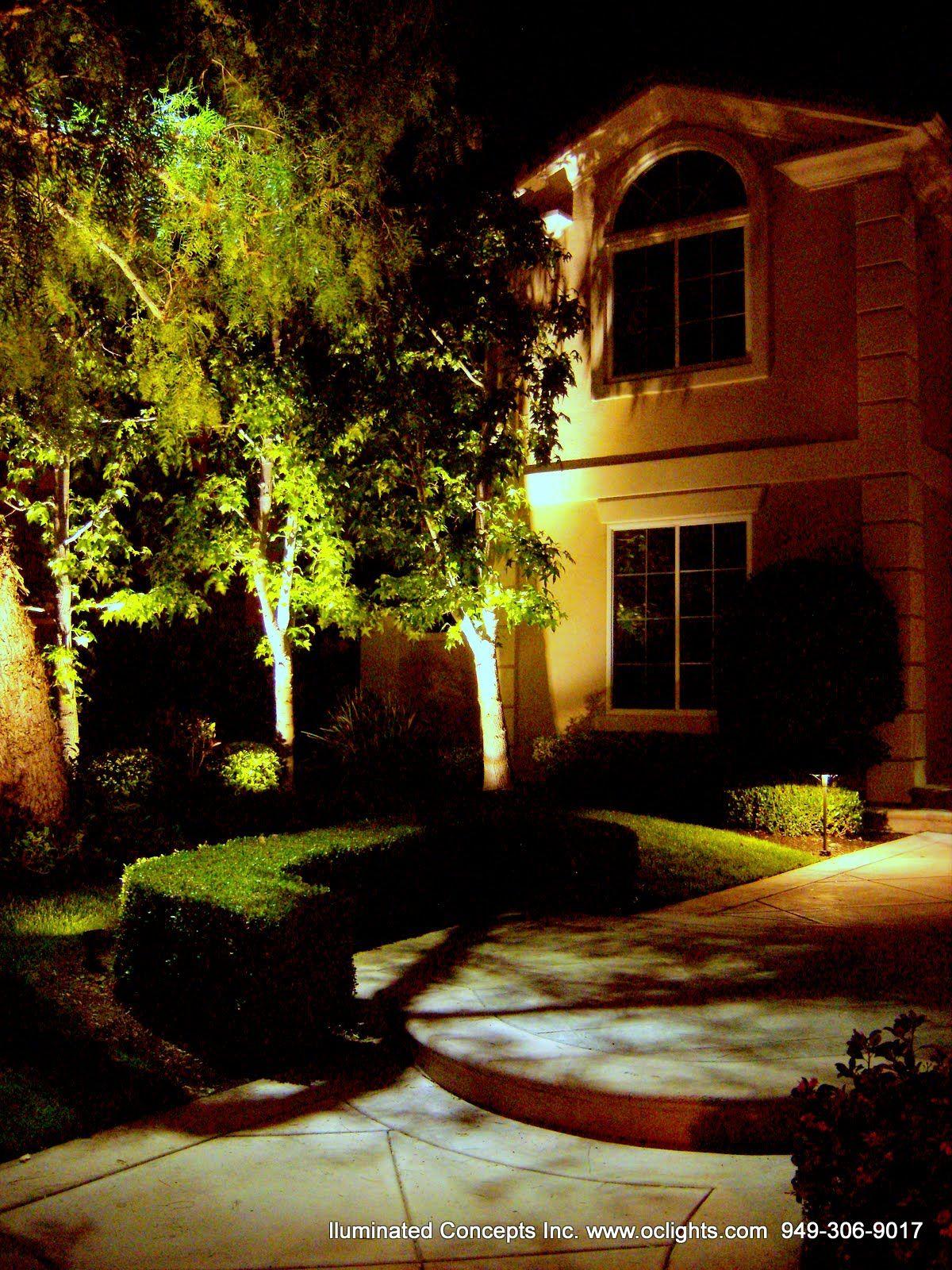 led landscape lighting orange county festive garden lighting
