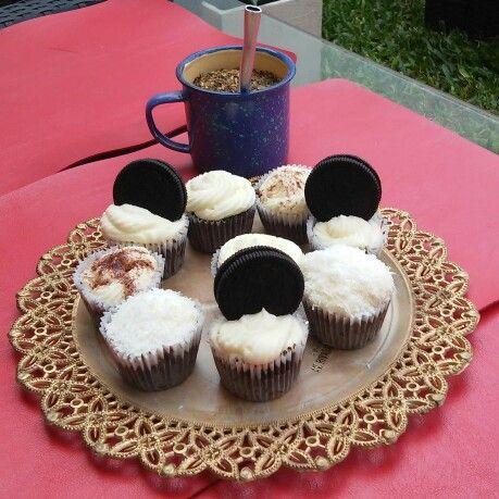 Cupcakes chocolate chocolat crema cream oreo rico sweet dulce postre desert mate argentina coco