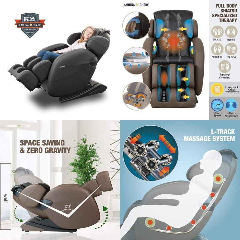 Kahuna Massage Chair Lm6800 Recliner With Heating Therapy Yoga And