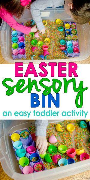 Easter Sensory Bin Easter Easter Activities For Toddlers Easter