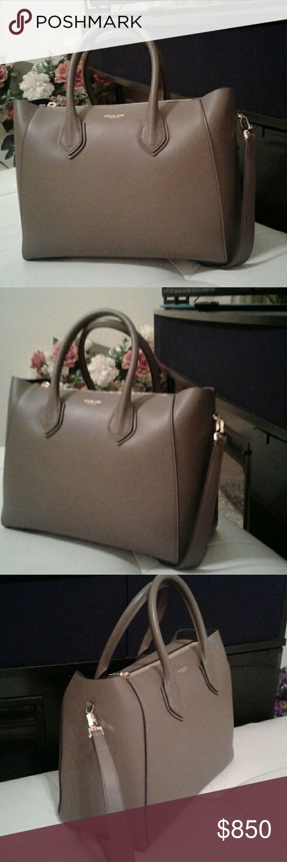72493ed1a761 BRAND NEW...HELENA SATCHEL MK Gorgeous brand new with tags MK Helena ...