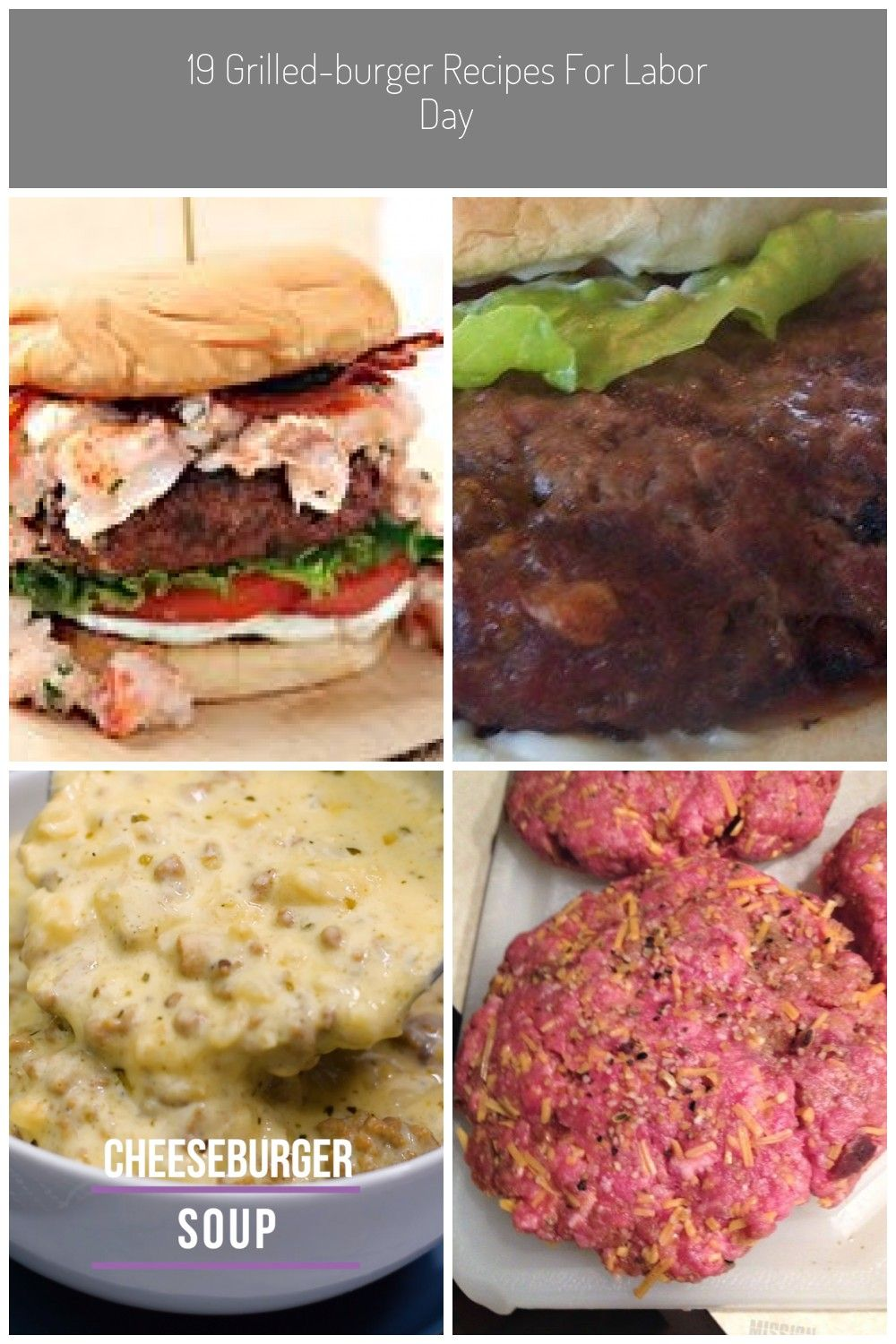 33 Hamburger Recipes For Memorial Day | Serious Eats hamburger recipes 19 Grilled-Burger Recipes fo