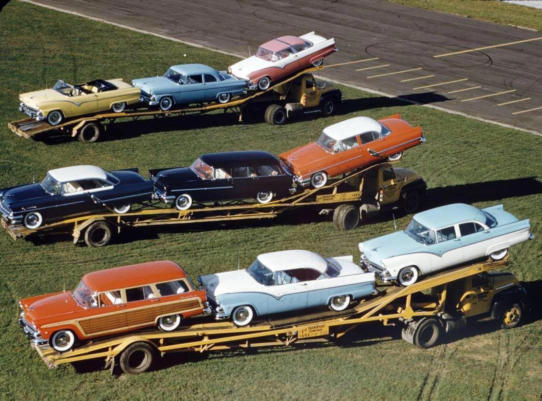 Ford mercury 1955 car