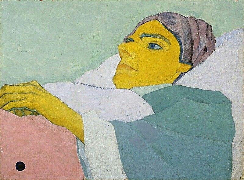 Zieke vrouw. Vilmos huszar