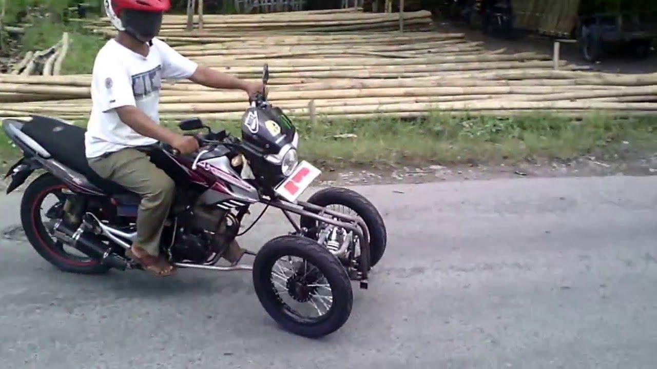 honda tiger revo, reverse trike | motor modifikasi rwin