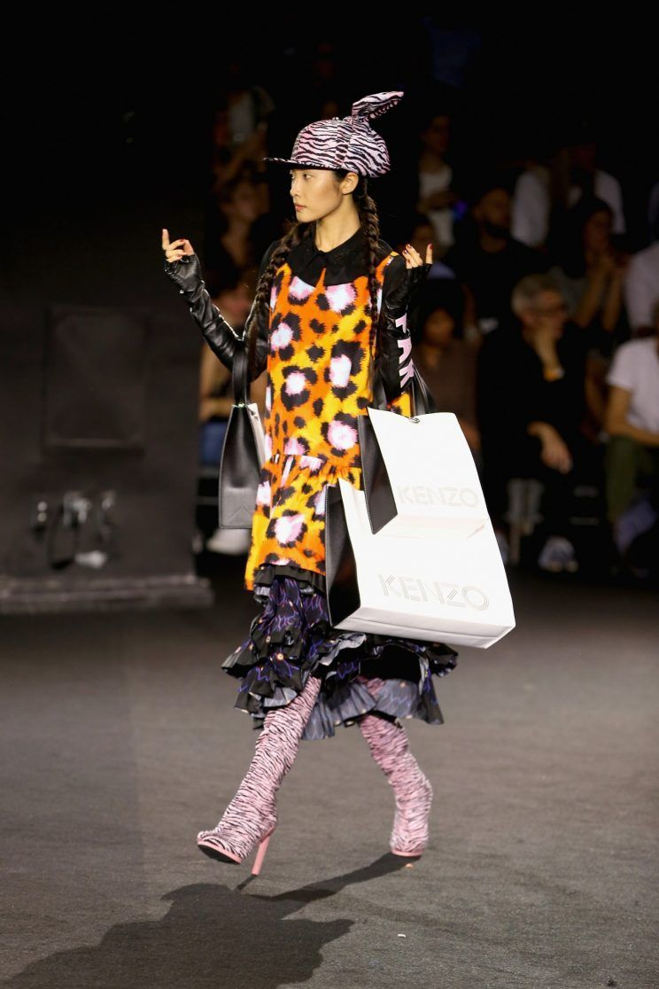 850a6b6b 48083f5d2264396dfad52541d2f09fd8 (744×1116) Kenzo H M, Nyc, Fall Winter,  Ready To