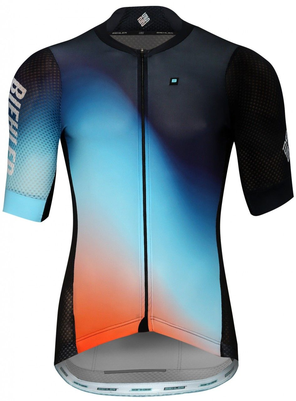 ae2f8afb244 Extremely lightweight summer jersey for best ventilation during racing in  very hot circumstances. Our new