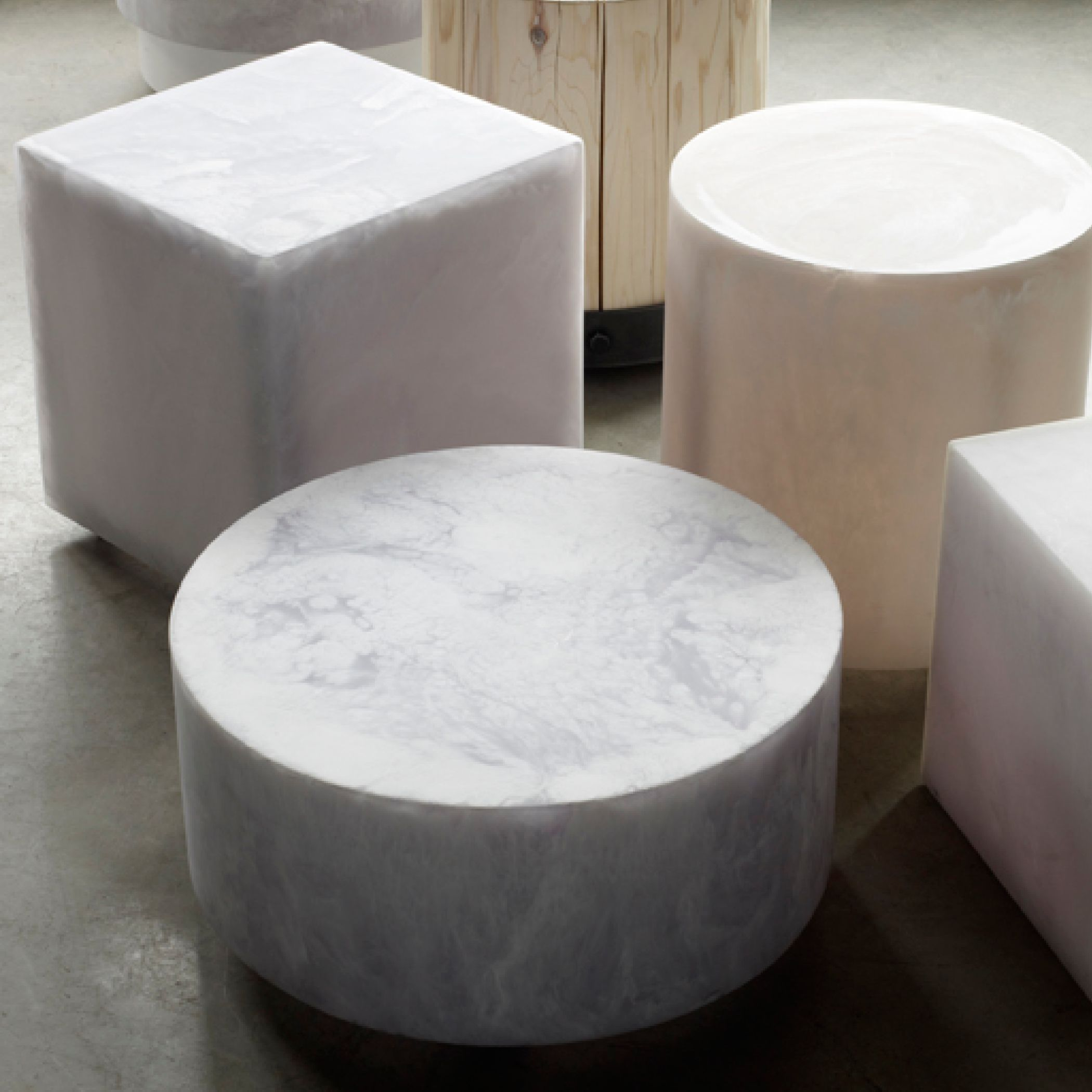Martha Sturdy Resin Stools/side Tables Available From Www.providehome.com