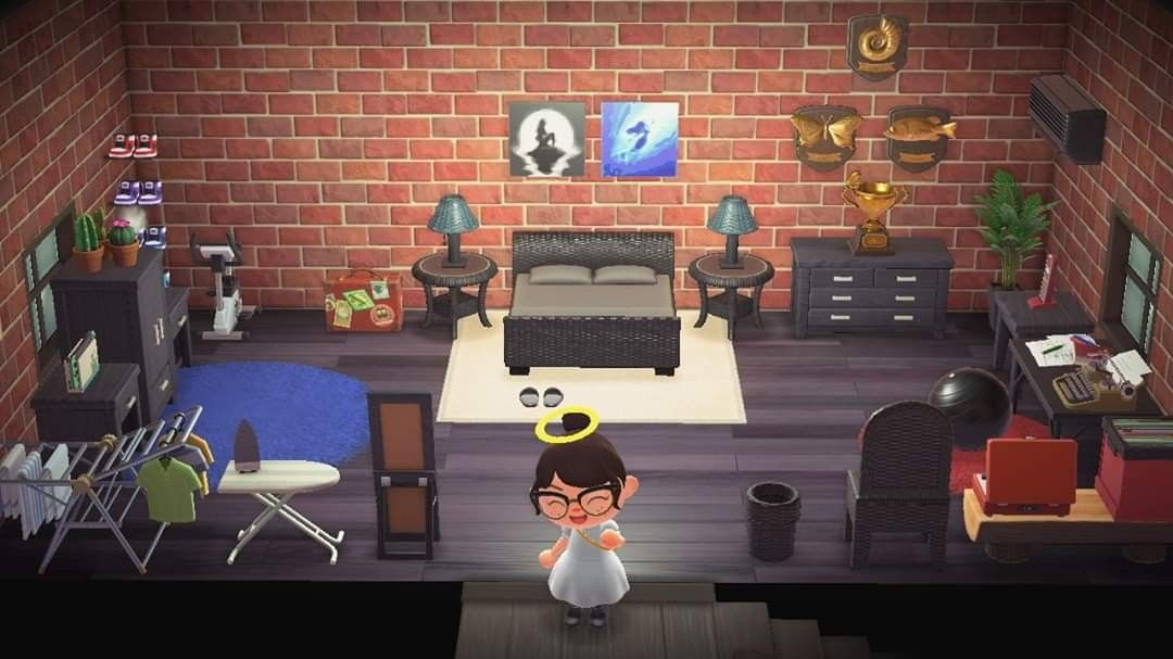 Finished Master Bedroom Animal Crossing Decor Ping Pong Table Acnh master bedroom ideas
