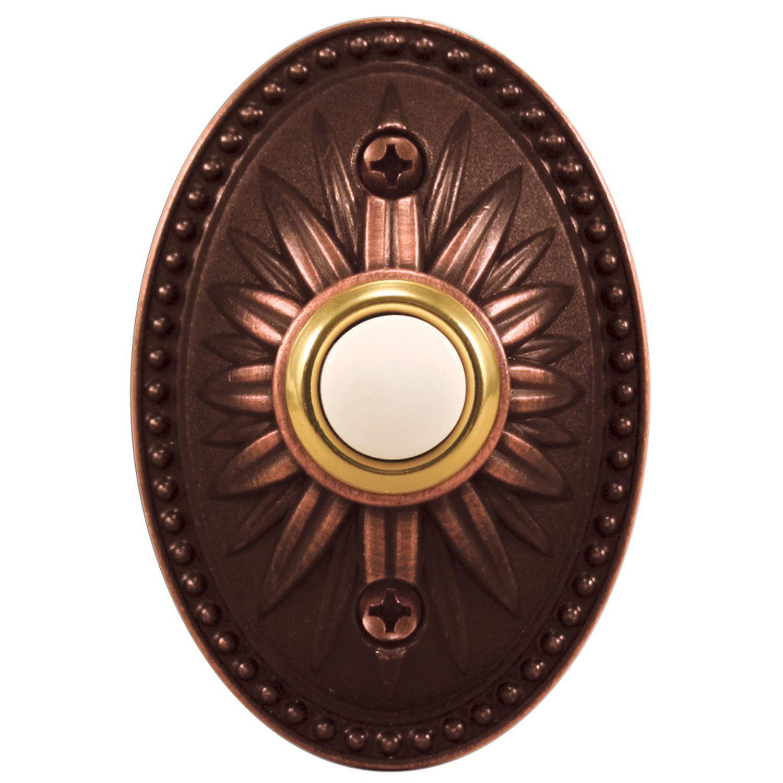 Decorative Wireless Doorbell  Bronze lighting, Wireless doorbell