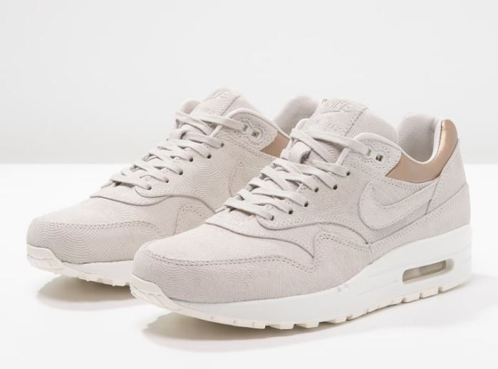 nike air max 1 baskets beige