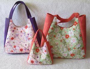 Chantal tote bag pattern sewing bags purses bolsos bolsos