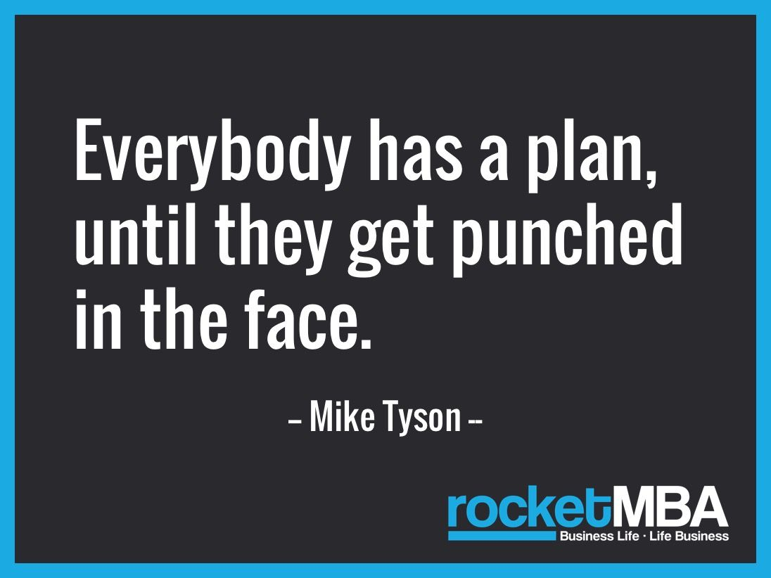Insurance Life Quotes Everybody Has A Plan Until They Get Punched In The Face Mike