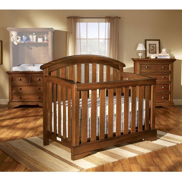 Westwood Waverly 3 Piece Nursery Crib Combo And 4 Drawer