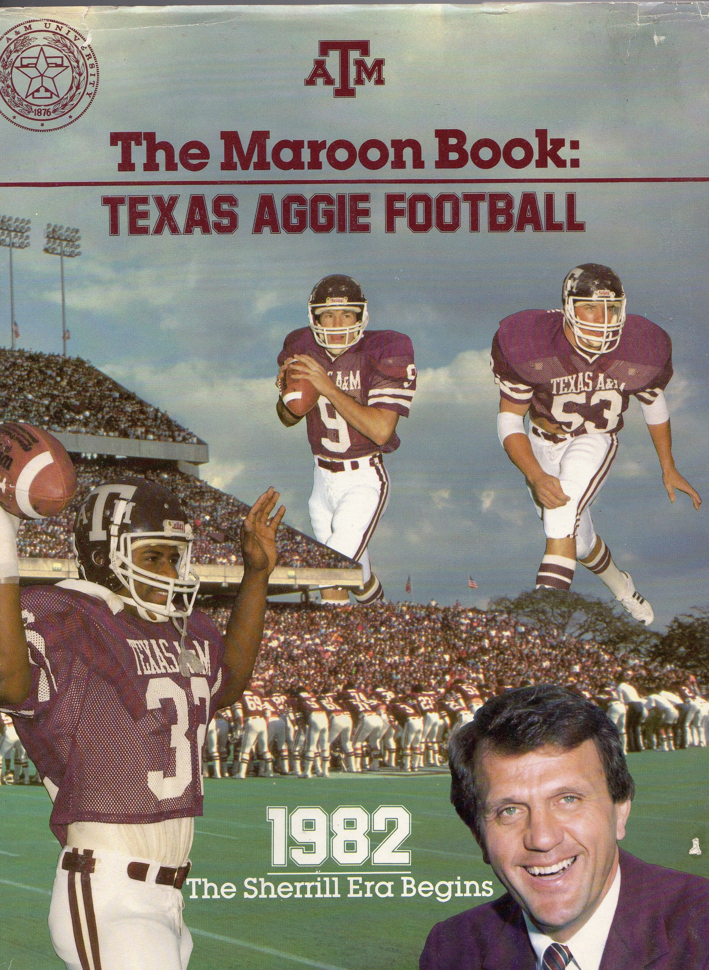 1982 Texas A M Aggies Football Media Guide Texas Aggies Football Aggie Football Texas Aggies