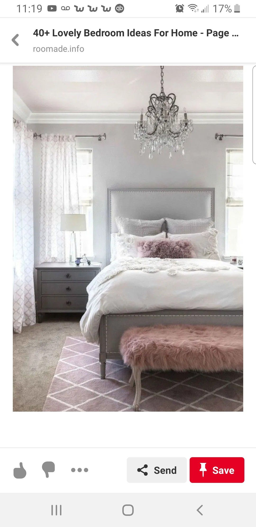 Pin by Caryl Lawson on Master bedroom ideas Grey bedroom