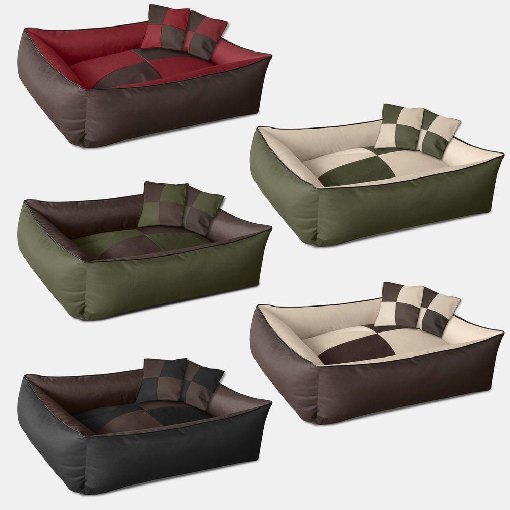 Cama para perro sof con coj n lugar de descanso beddog for Sofa quattro