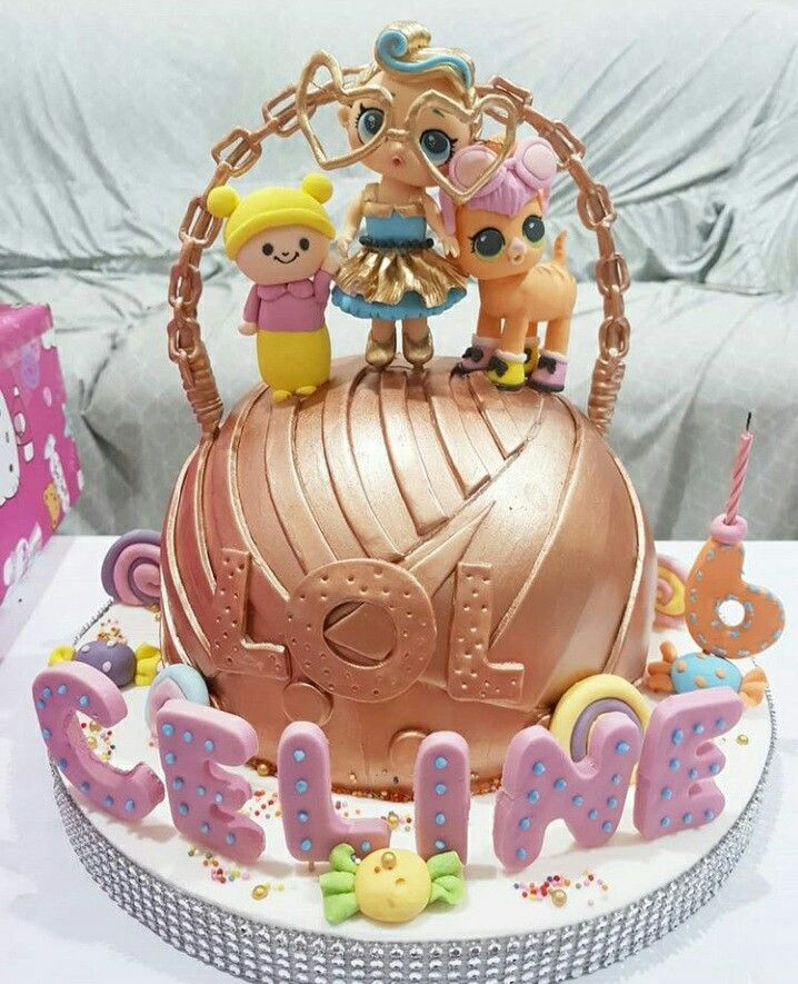 Decorations Doll Cake Lol