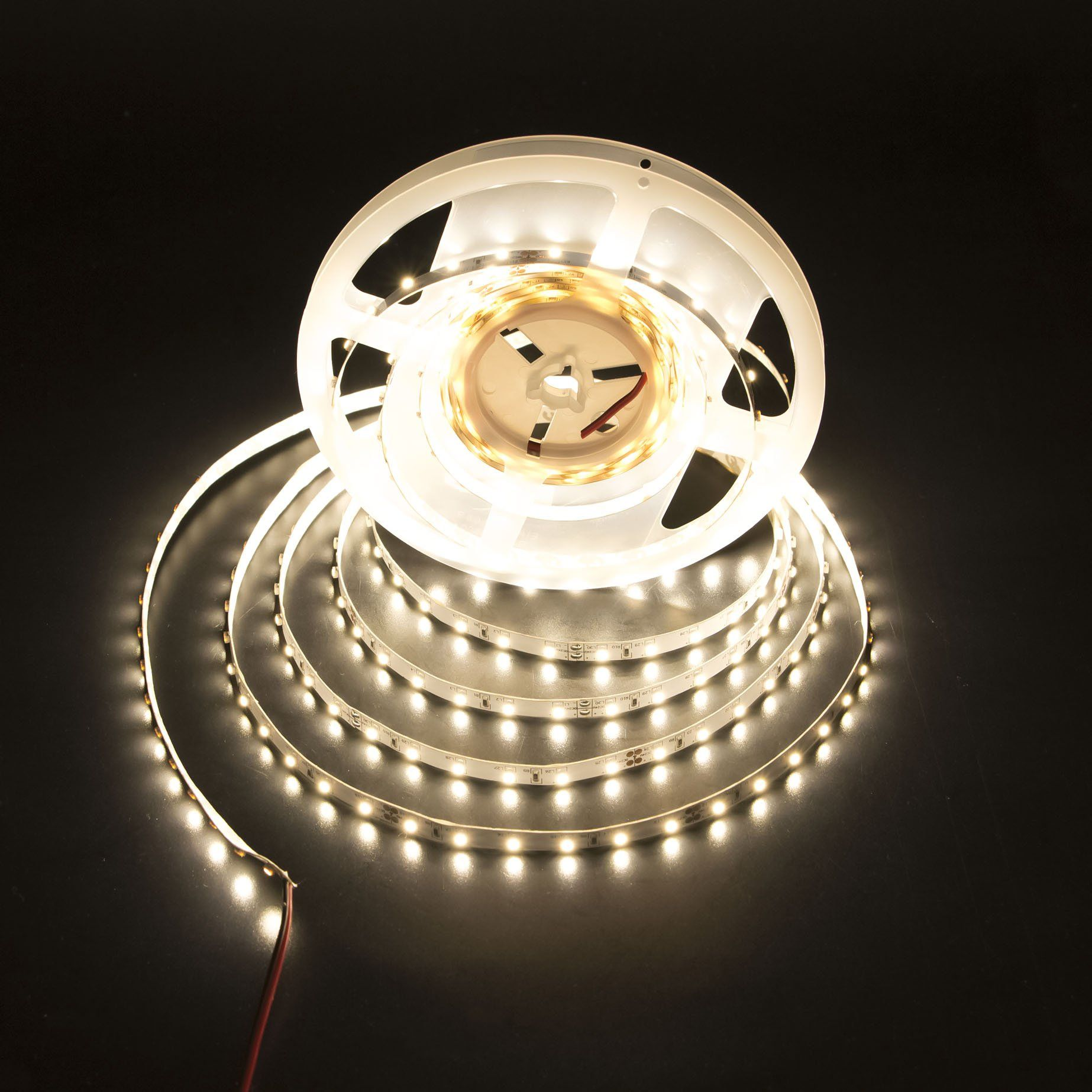 Ledmy Flexible Led Strip Lights Warm White 3000k Dc 12v 24w Smd3528 300leds Ip20 Not Waterproof Led Tape Lighting Flexible Led Strip Lights Led Strip Lighting