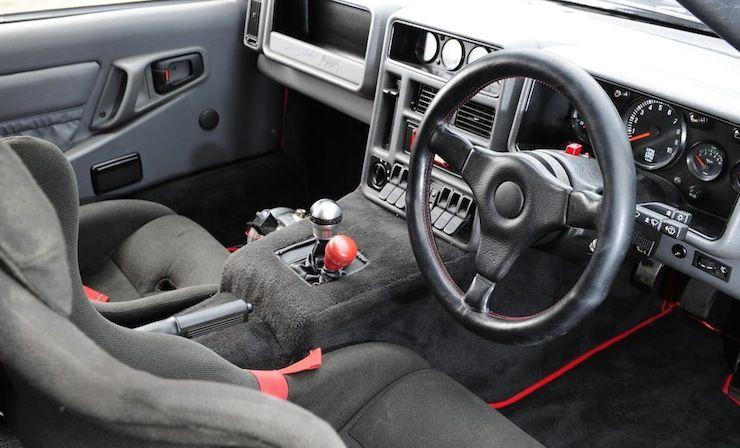 Ford Rs200 Coupe Original In 2020 Ford Car Interior Interior Design Programs