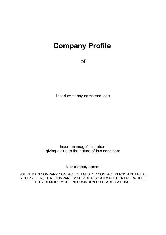 Business Company Profile images Stuff to Buy Pinterest - brief company profile sample