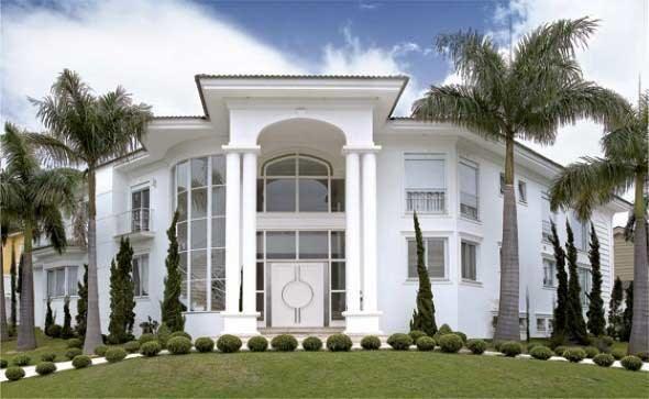 Fachada de casas cl ssicas 004 fachadas pinterest for Casa classica moderna