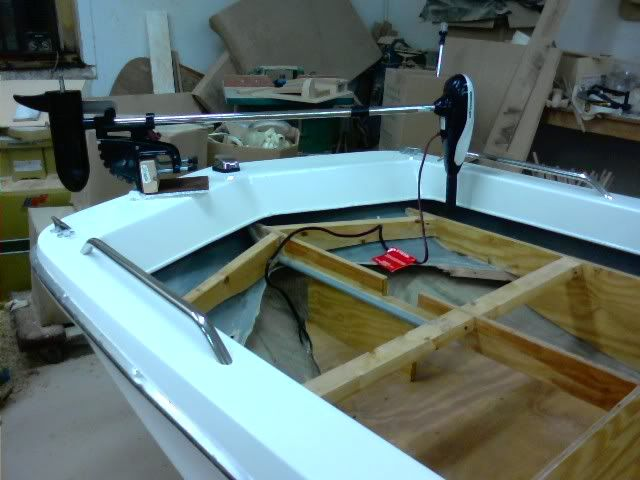 14 ft tri hull boat total rebuild page 7 322024 jim for Trolling motor for 18 foot boat