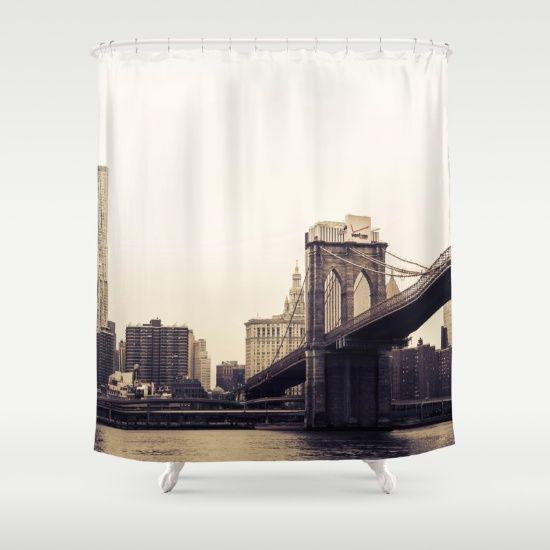 Brooklyn Bridge Ny Shower Curtain