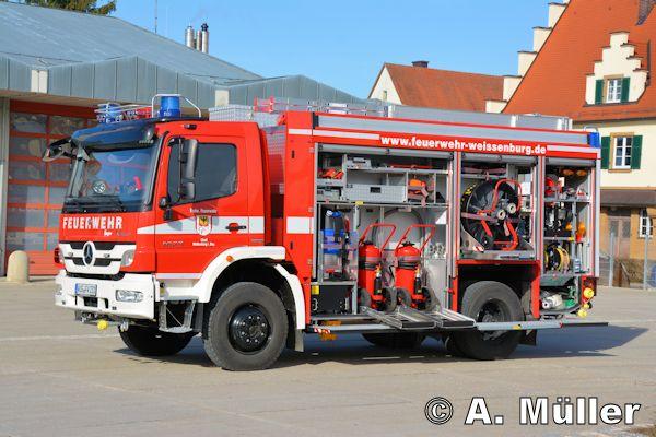 A D Tlf Me 2480 Der Feuerwehr Erkrath: Das Neue TLF 4000 Der FF Weißenburg Stammt Von Ziegler Und