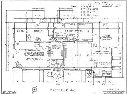 Atlanta Home Construction Plans Jpg 417 309 Pixels Free Floor Plans Floor Plans Construction Drawings