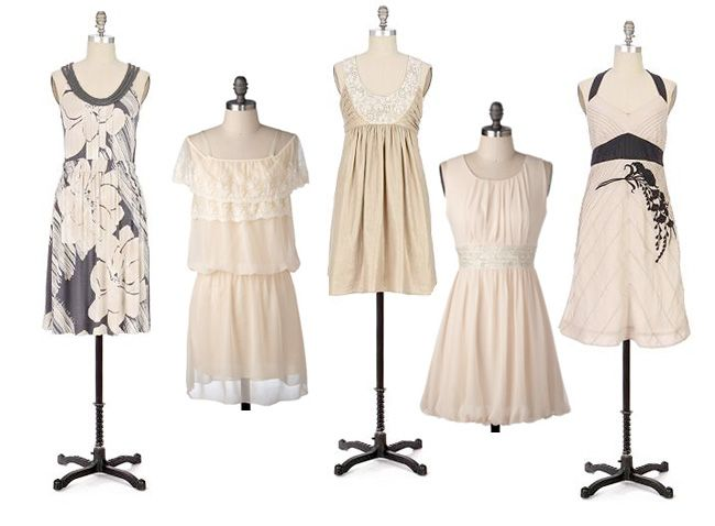 10  images about Vintage style Pink/ Brown Bridesmaid Dresses on ...