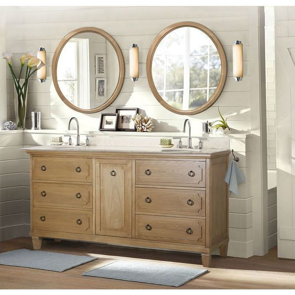 60 double sink vanity with granite top. Legion Furniture 60 inch Light Brown Double Sink Vanity with Granite Top  and 2 Mirrors