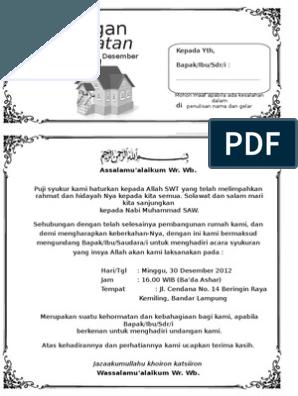 Contoh Undangan Syukuran Rumah Baru : contoh, undangan, syukuran, rumah, Contoh, Surat, Undangan, Syukuran, Rumah, Baru.doc, 2007,, Words,, Microsoft