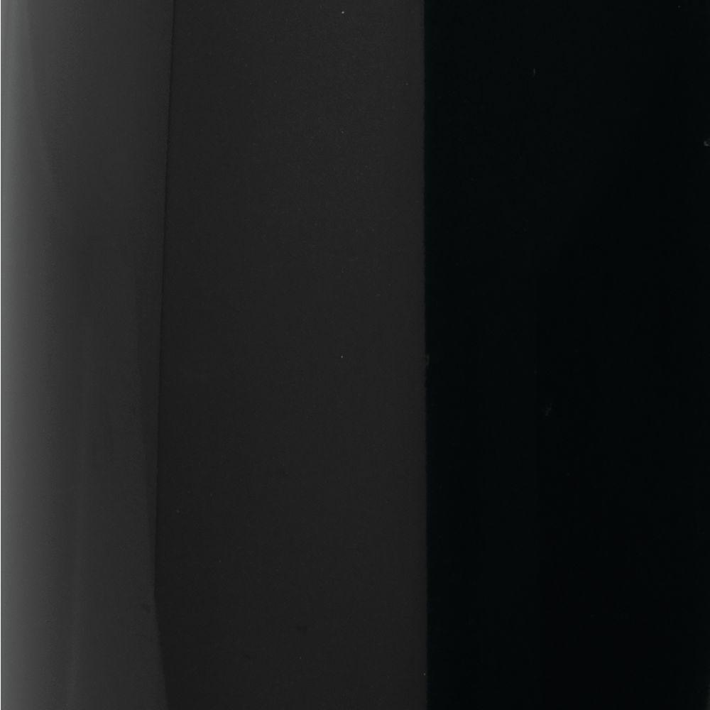 Metal - Shelf Divider & Separator - Closet Storage in Black, by mDesign