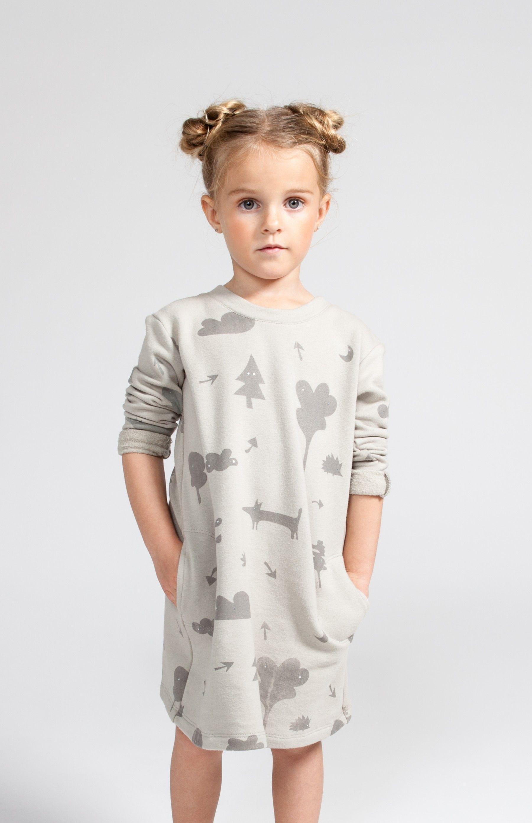 Whoa Dude! Omamimini Secret Forest Sweatshirt Dress | KIDS CLOTHES ...