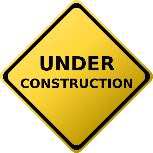 Style Guide Clker Construction Signs Printable Construction Signs Construction Quotes