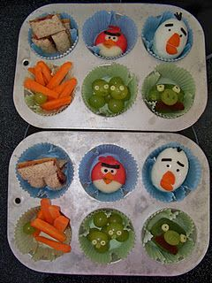 Ian will love this Angry Birds theme!