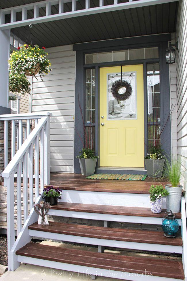 Front Porch Makeover {A Pretty Life}