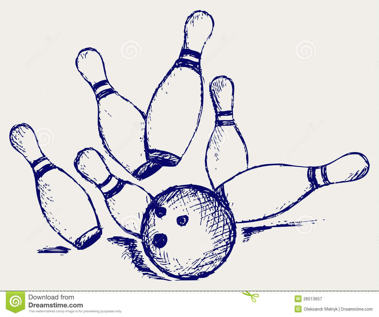 Bowling Ball And Pins Drawing Google Search Bowling Drawings Chicken And Shrimp Recipes