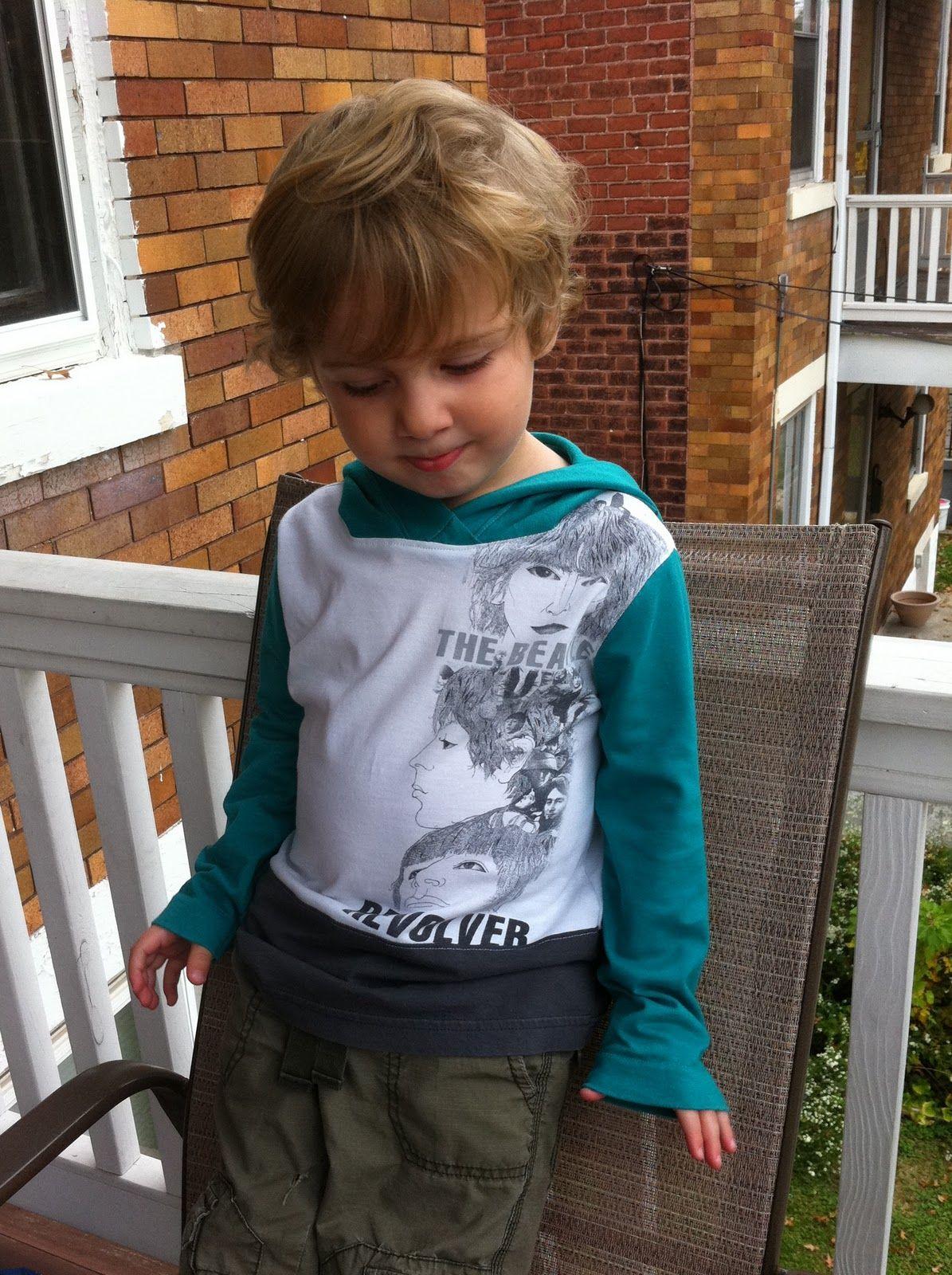 a little gray: t-shirt refashion